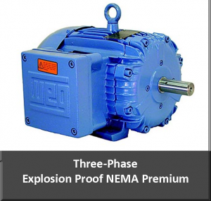 three phase explosion proof motor